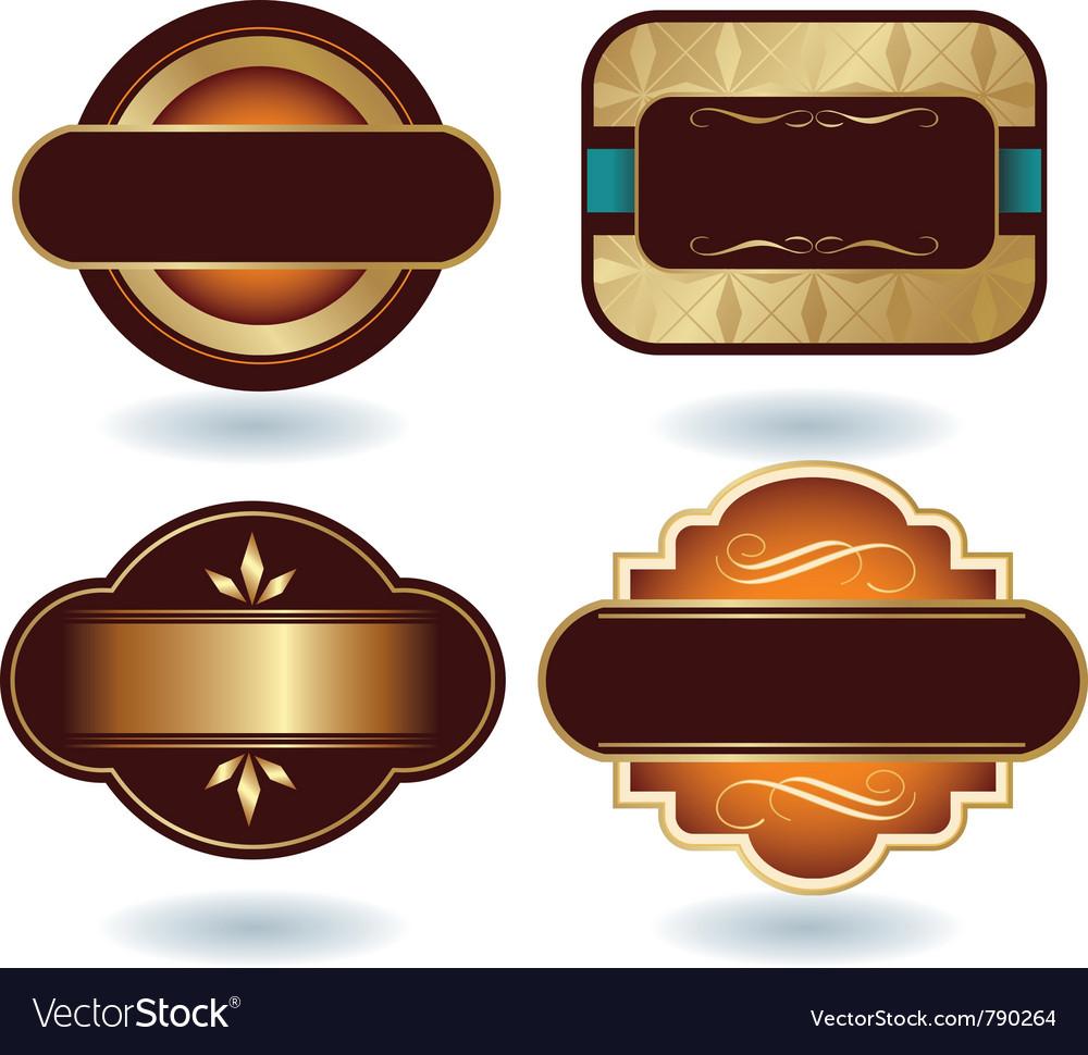 Chocolate logo template vector | Price: 1 Credit (USD $1)