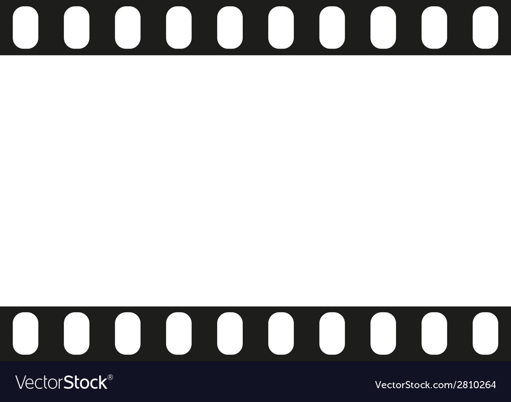 Film strip seamless pattern vector | Price: 1 Credit (USD $1)