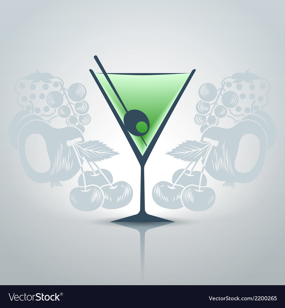 Glassofmartini vector | Price: 1 Credit (USD $1)