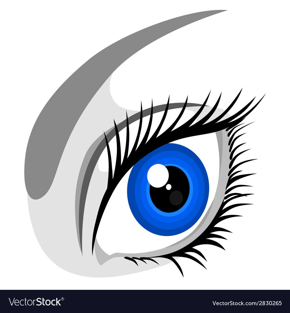Human eye vector | Price: 1 Credit (USD $1)