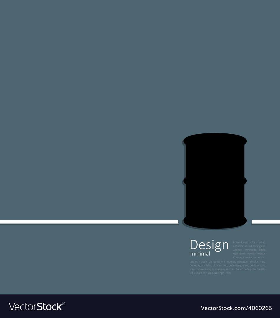 Black oil barrel roll logo template corporate styl vector | Price: 1 Credit (USD $1)