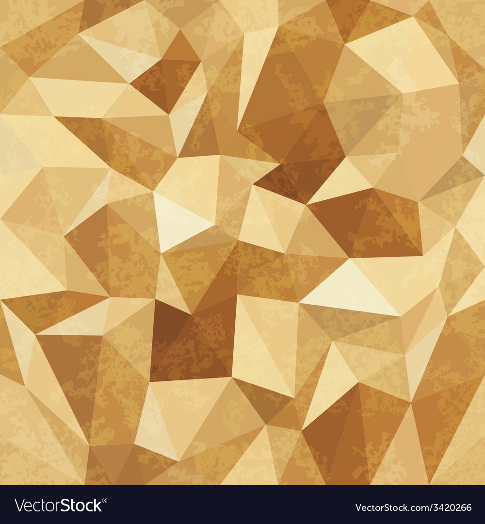 Golden mosaic background vector | Price: 1 Credit (USD $1)