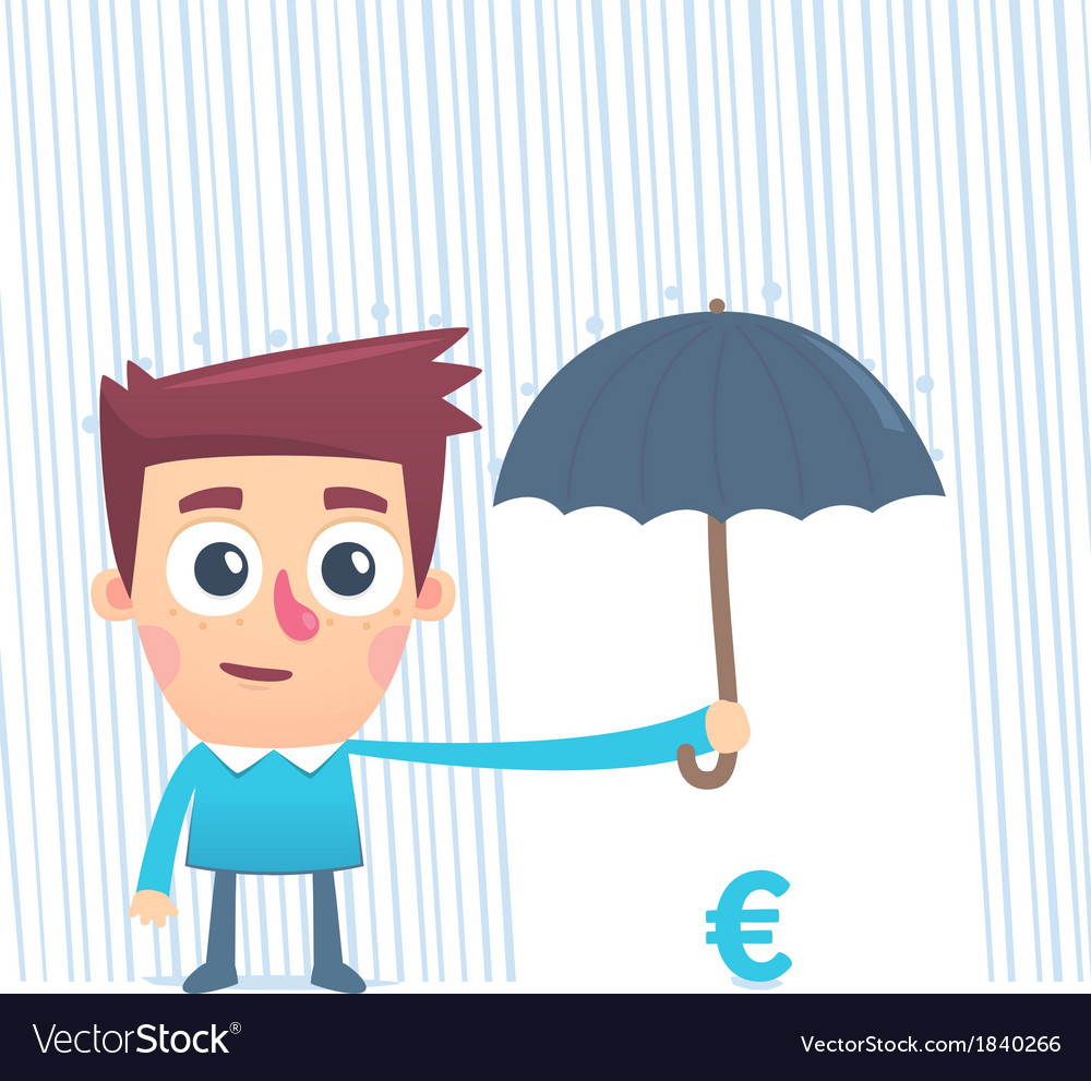 Insured money vector | Price: 1 Credit (USD $1)