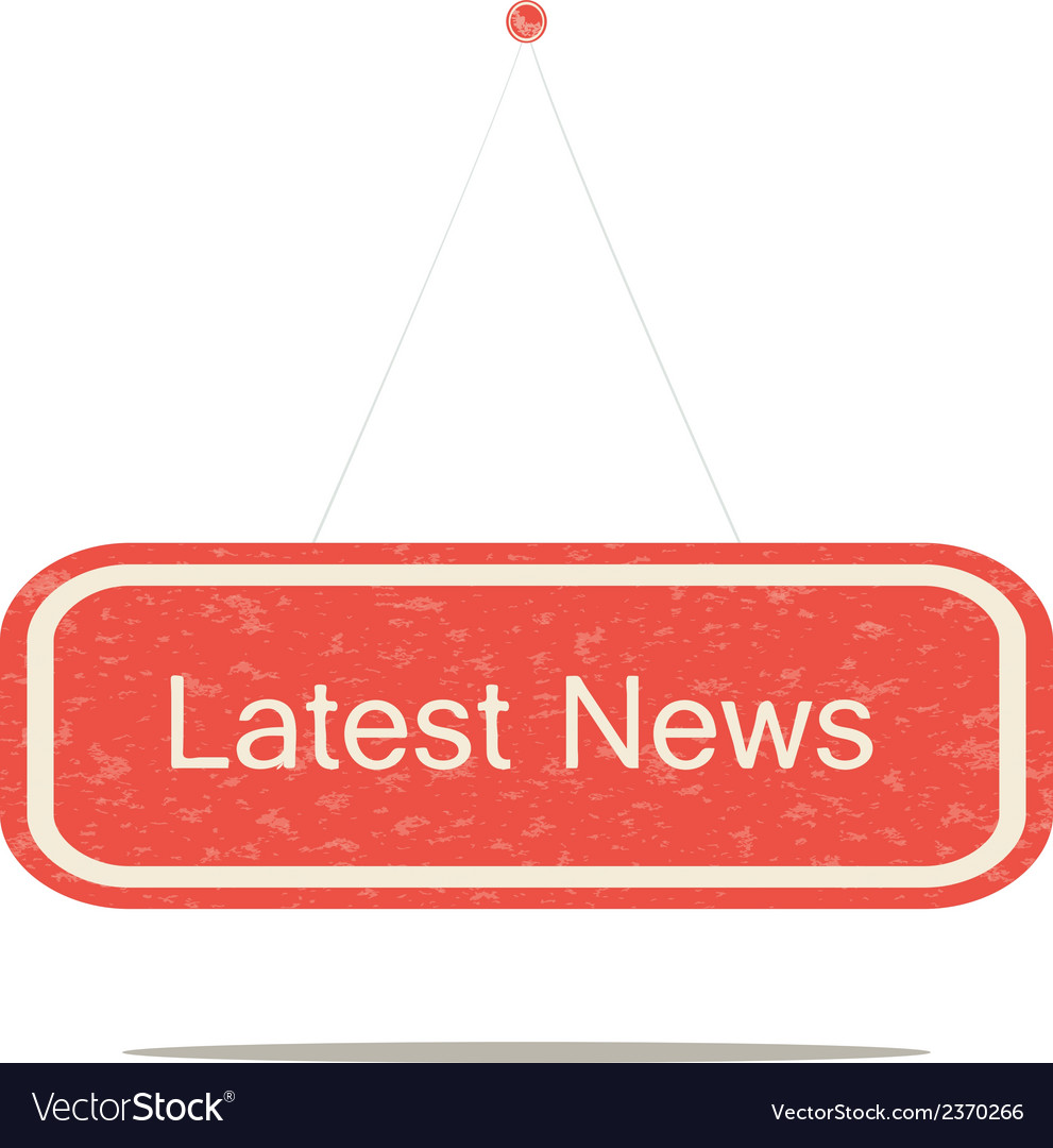 Latest news vector | Price: 1 Credit (USD $1)