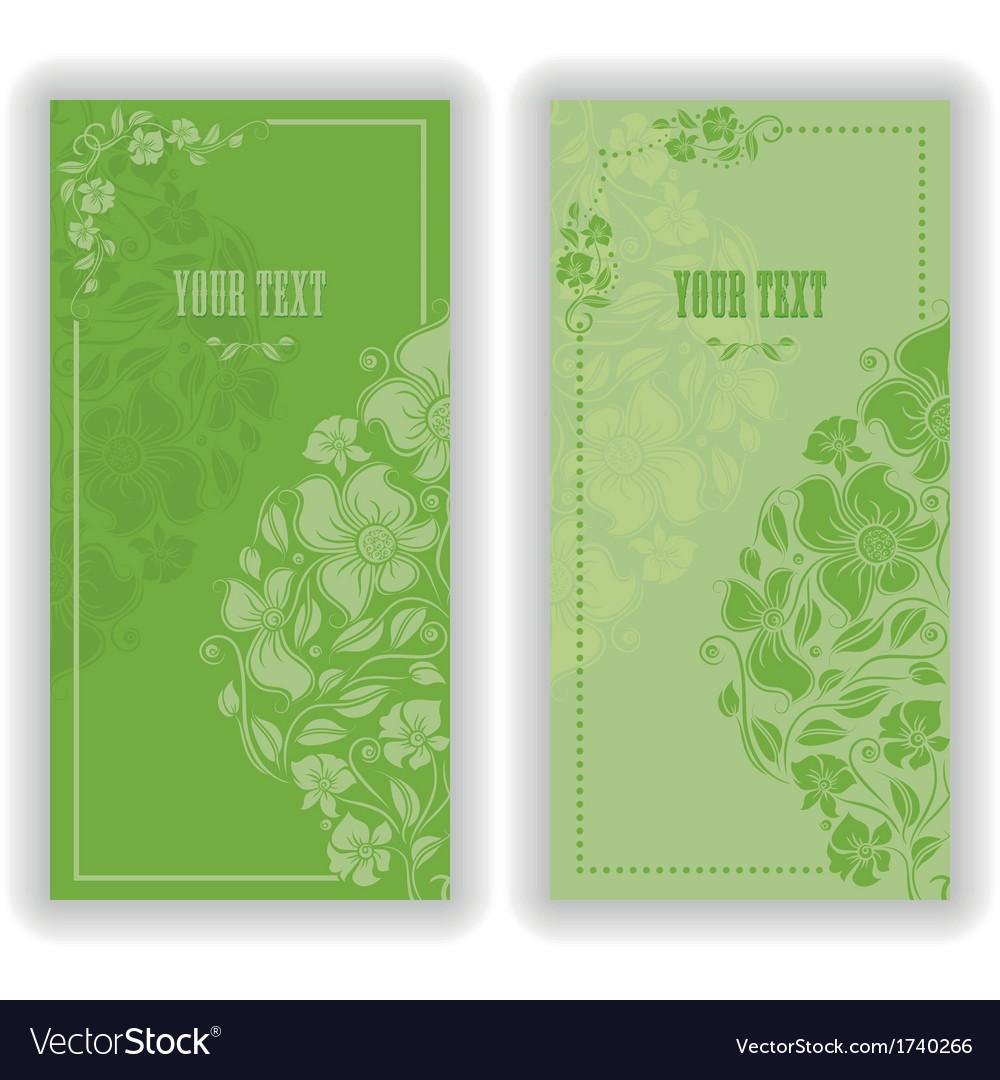 Template design for invitation vector | Price: 1 Credit (USD $1)