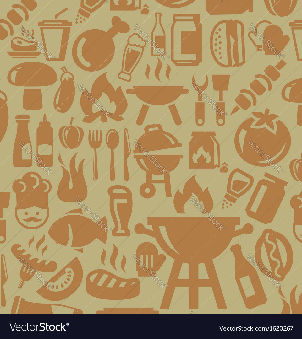 Barbecue icons vector | Price: 1 Credit (USD $1)