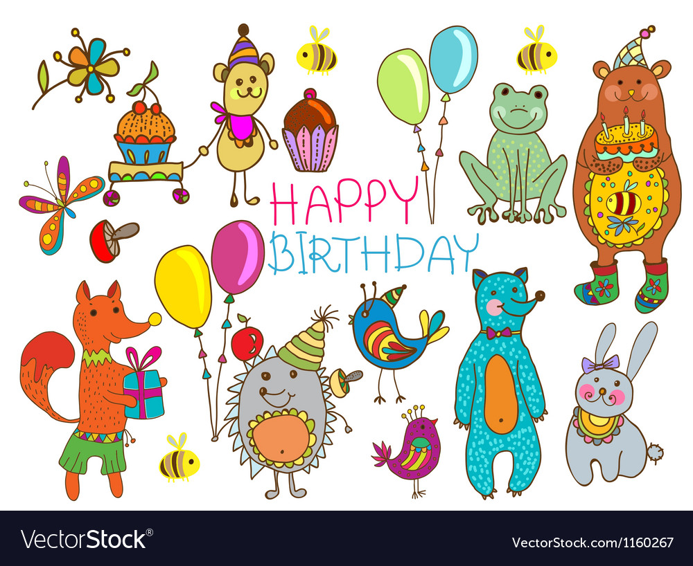 Hedge birthday vector | Price: 1 Credit (USD $1)