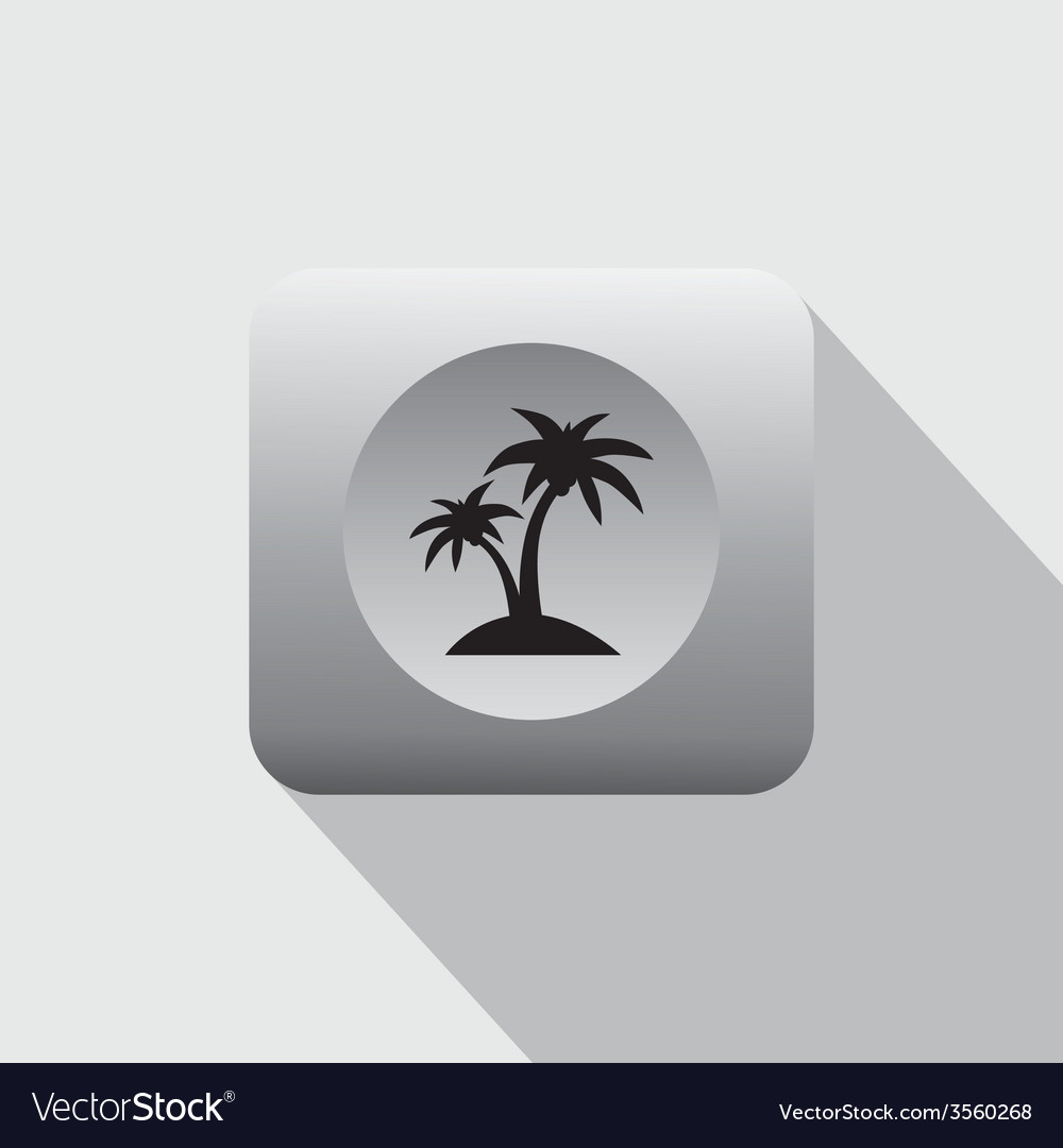 Summer vacation icon sign vector | Price: 1 Credit (USD $1)