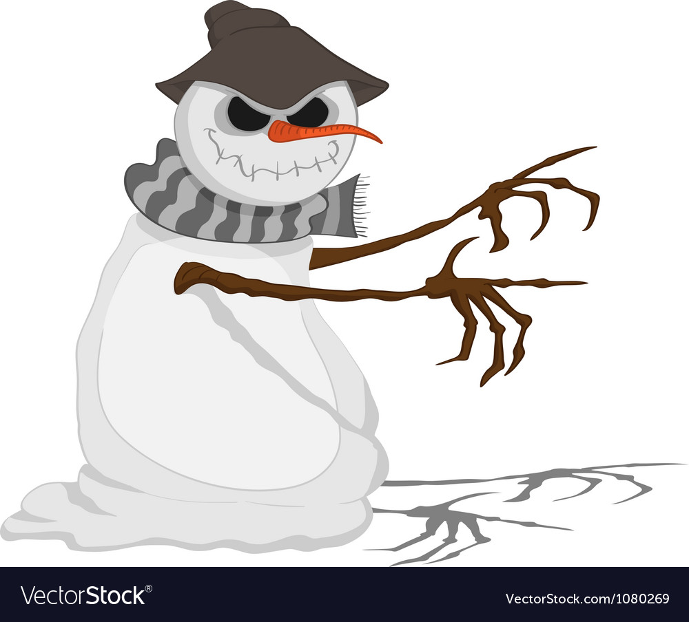 Dreadful jack frost vector | Price: 3 Credit (USD $3)