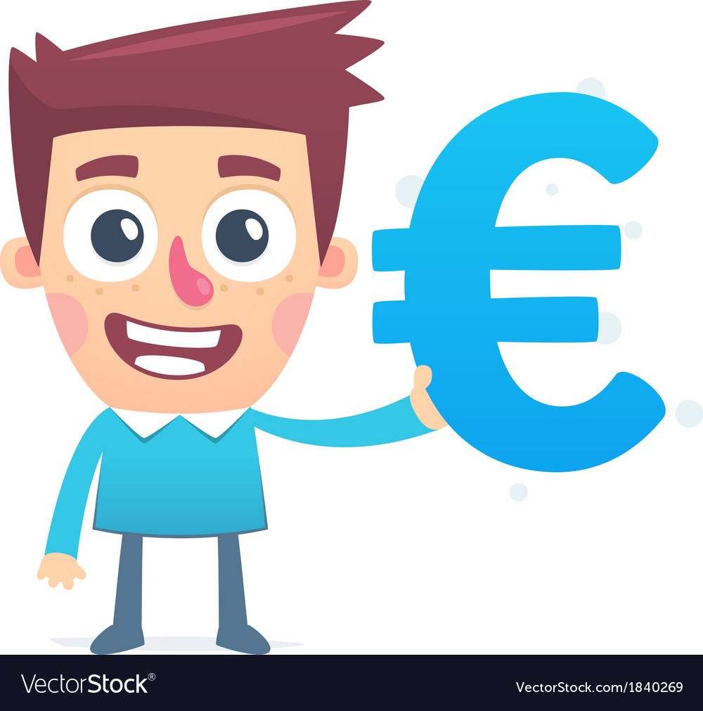 Euro most stable currency vector | Price: 1 Credit (USD $1)