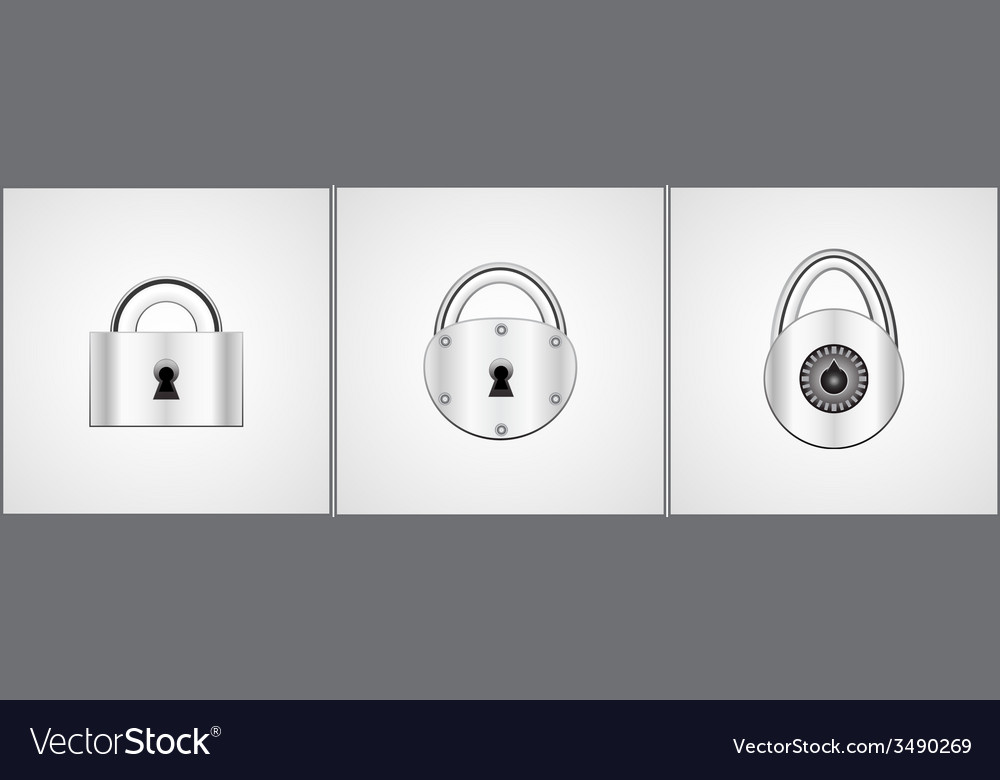 Locks vector | Price: 1 Credit (USD $1)