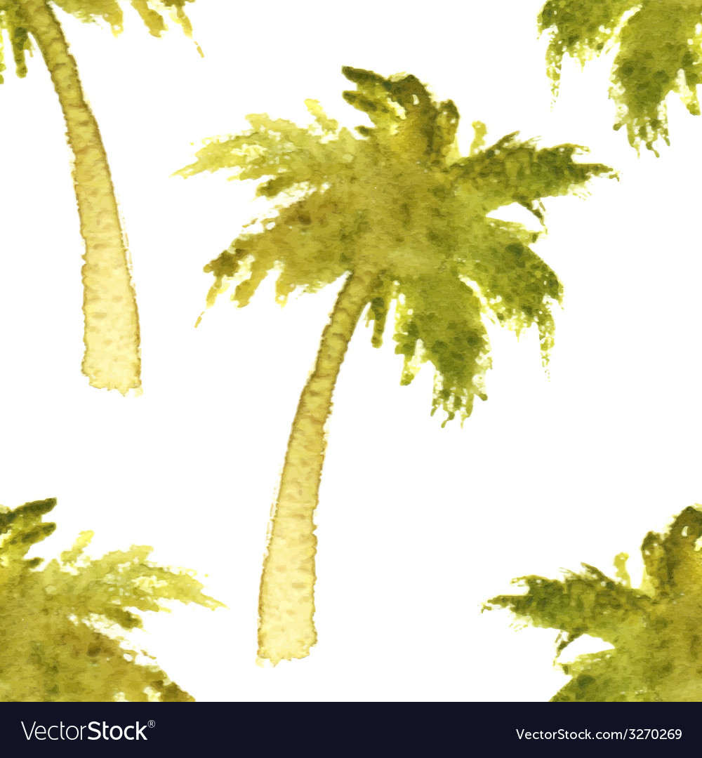 Palm tree seamless vector | Price: 1 Credit (USD $1)