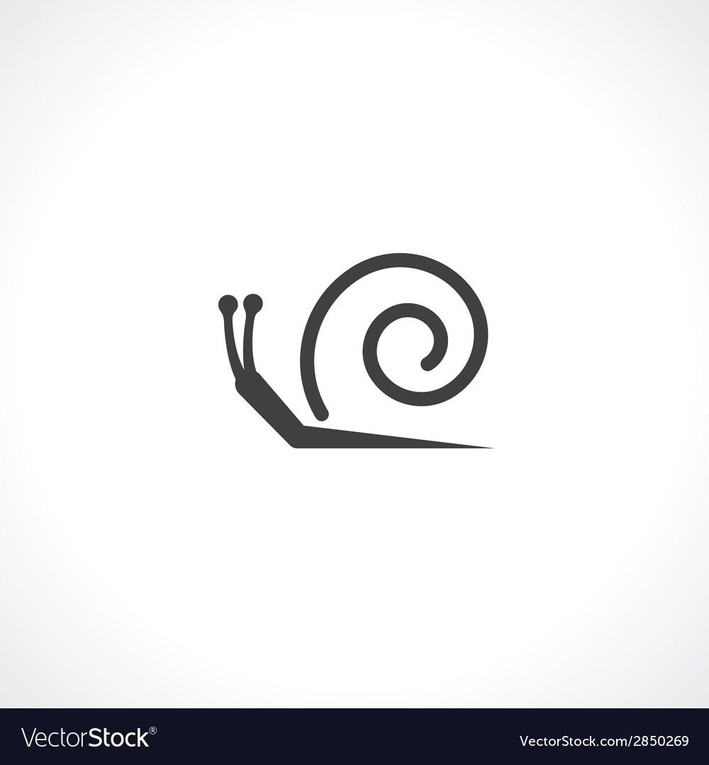 Symbol of snail vector | Price: 1 Credit (USD $1)