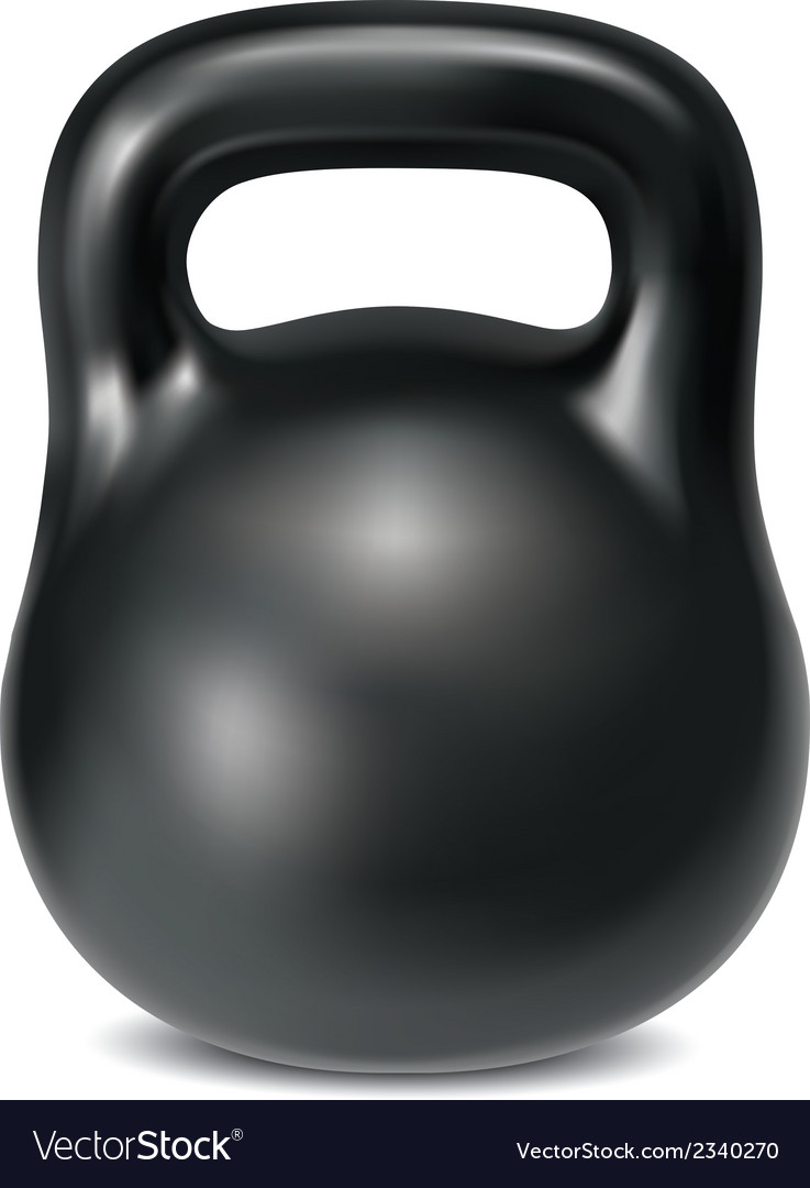 Kettlebell vector | Price: 1 Credit (USD $1)