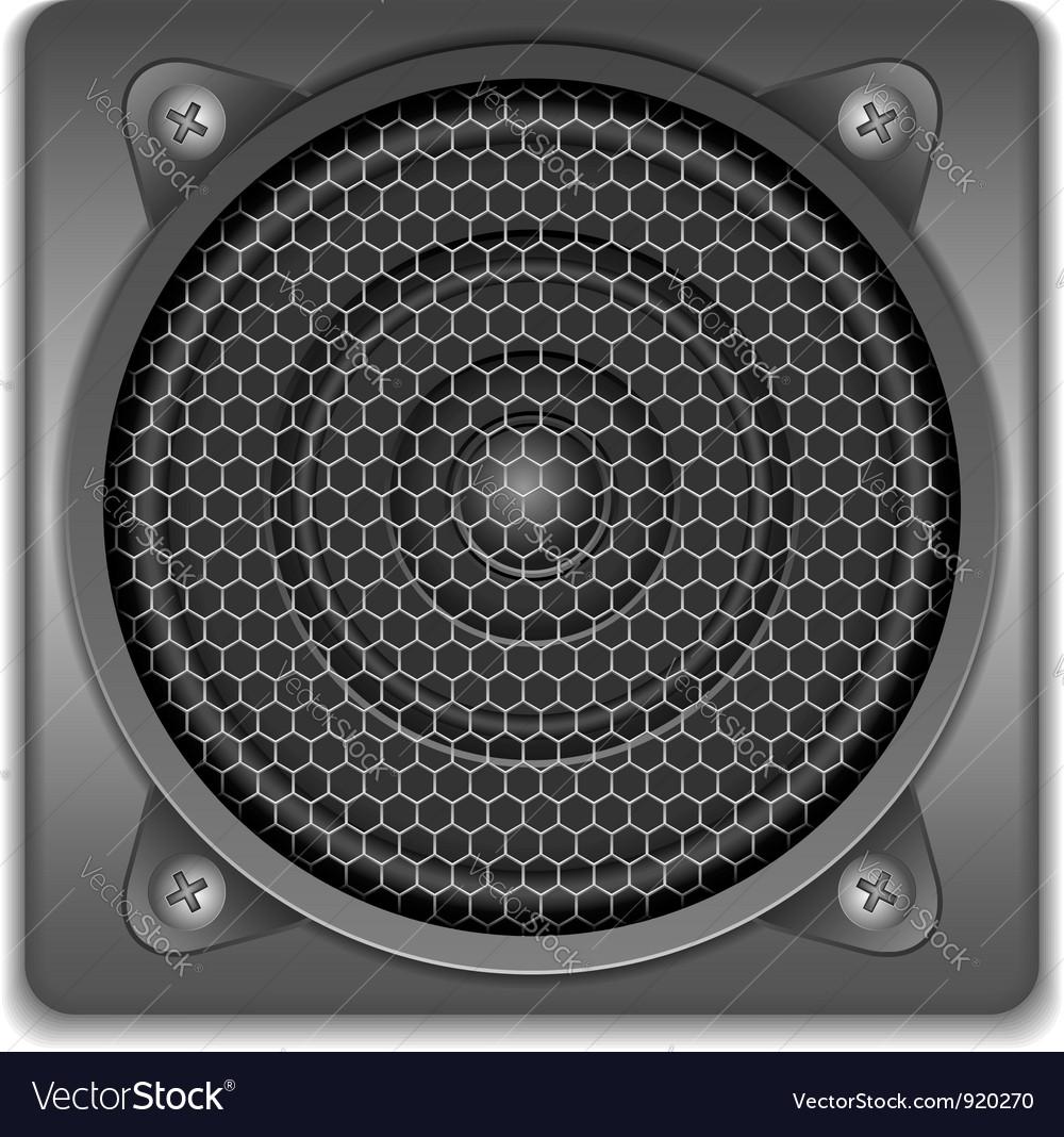 Sound speaker icon vector | Price: 3 Credit (USD $3)