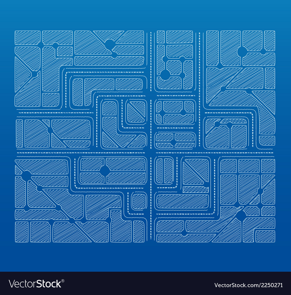 Blueprint plan vector | Price: 1 Credit (USD $1)
