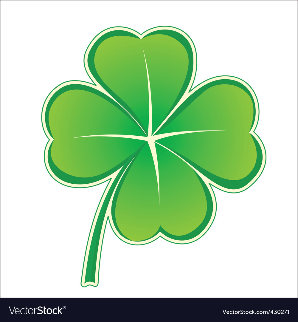 Clover icon vector | Price: 1 Credit (USD $1)