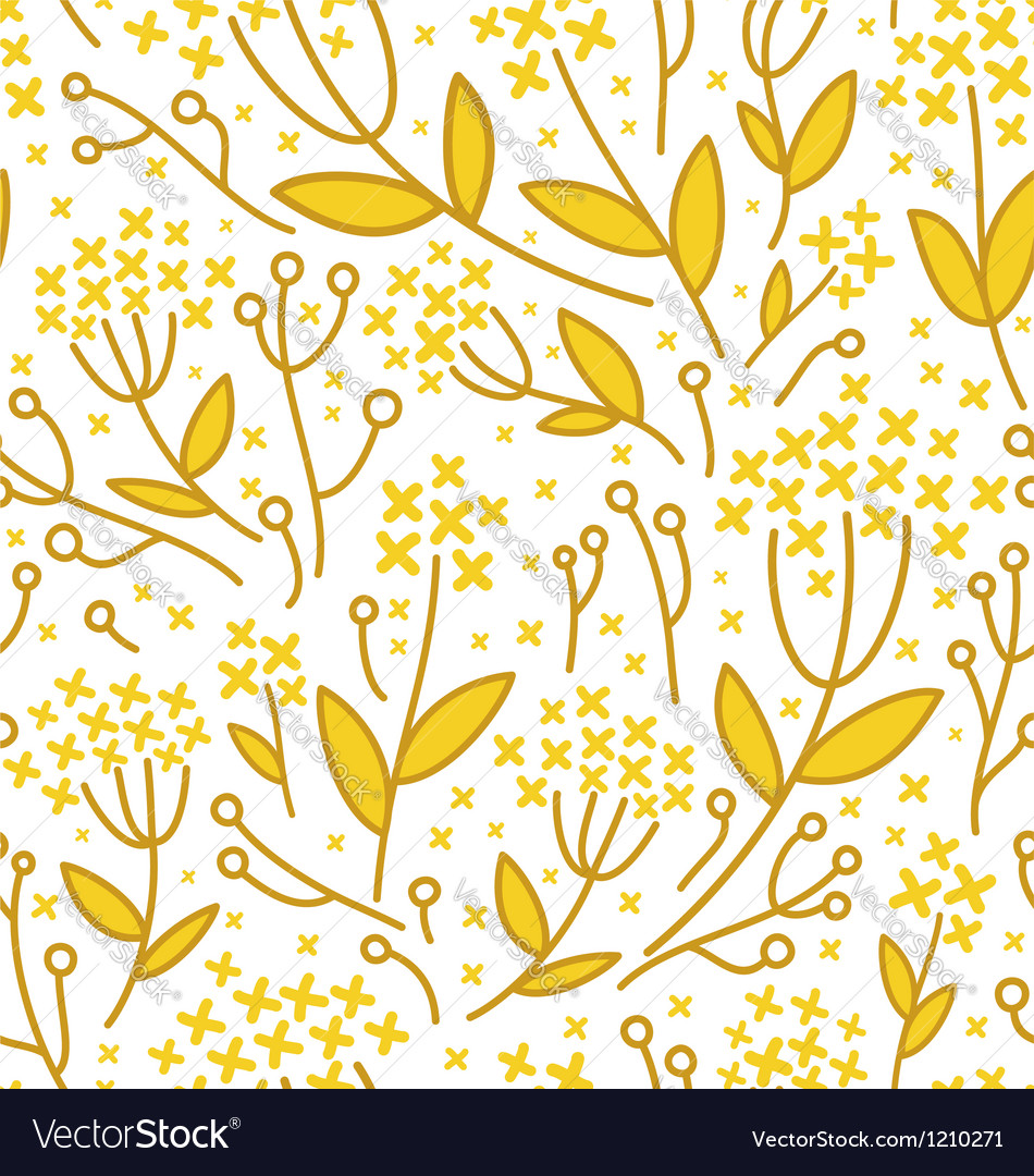 Florals on white background vector | Price: 1 Credit (USD $1)