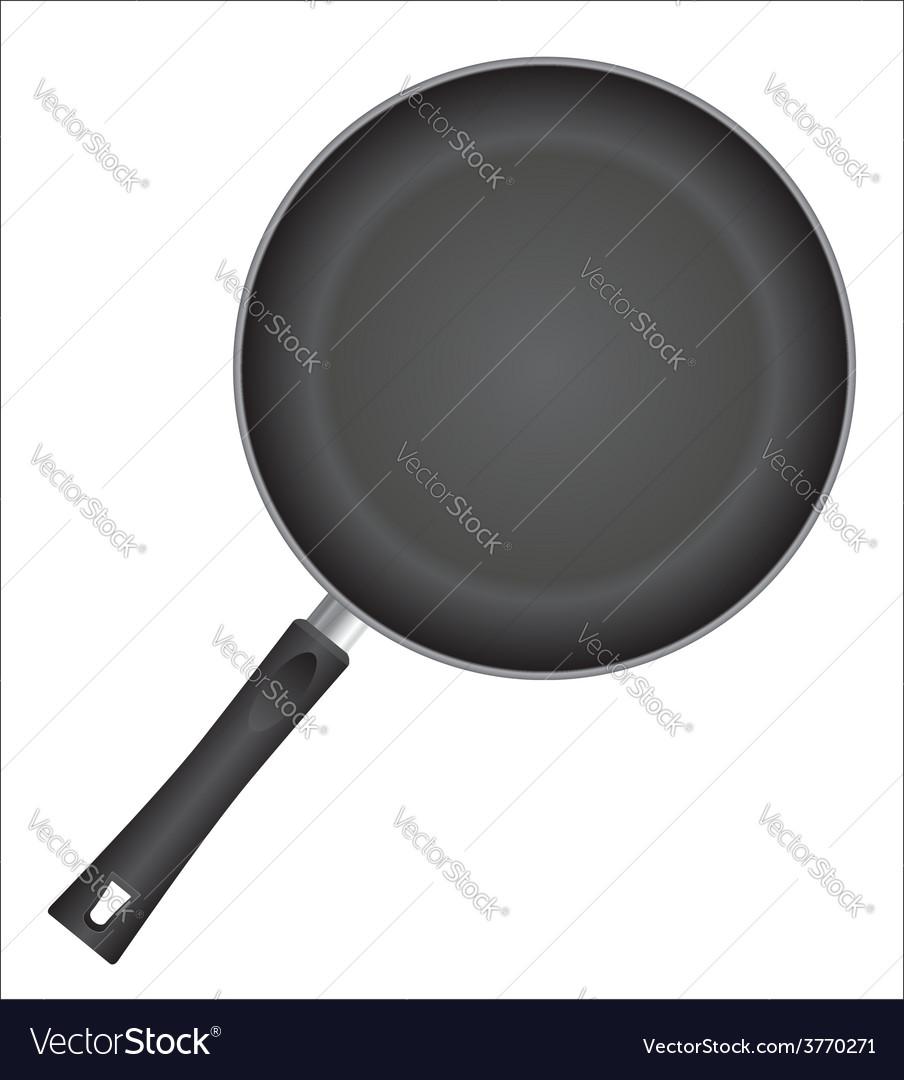 Frying pan 01 vector | Price: 1 Credit (USD $1)