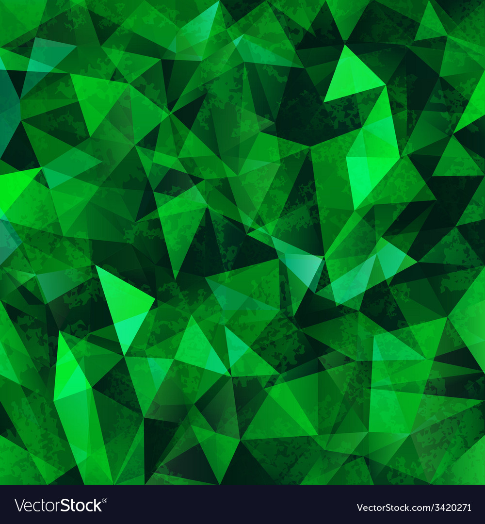 Green mosaic background vector | Price: 1 Credit (USD $1)