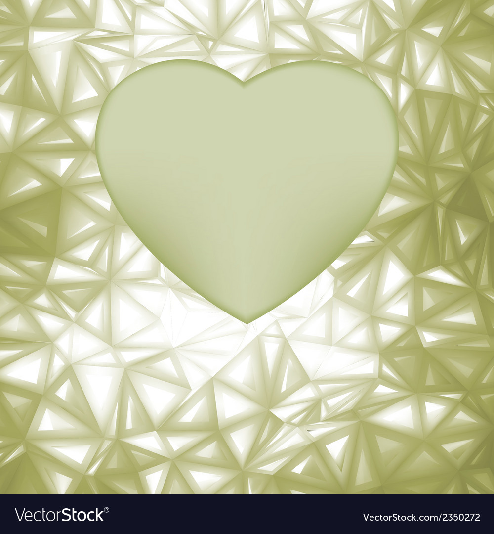 Elegant heart frame with space for concept eps 8 vector | Price: 1 Credit (USD $1)