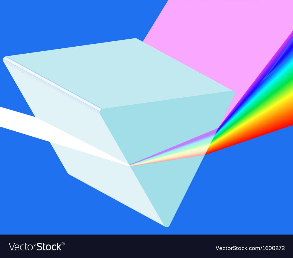 Spectrum prism vector | Price: 1 Credit (USD $1)