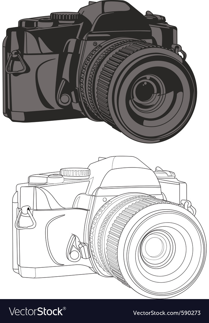 35mm camera vector | Price: 1 Credit (USD $1)