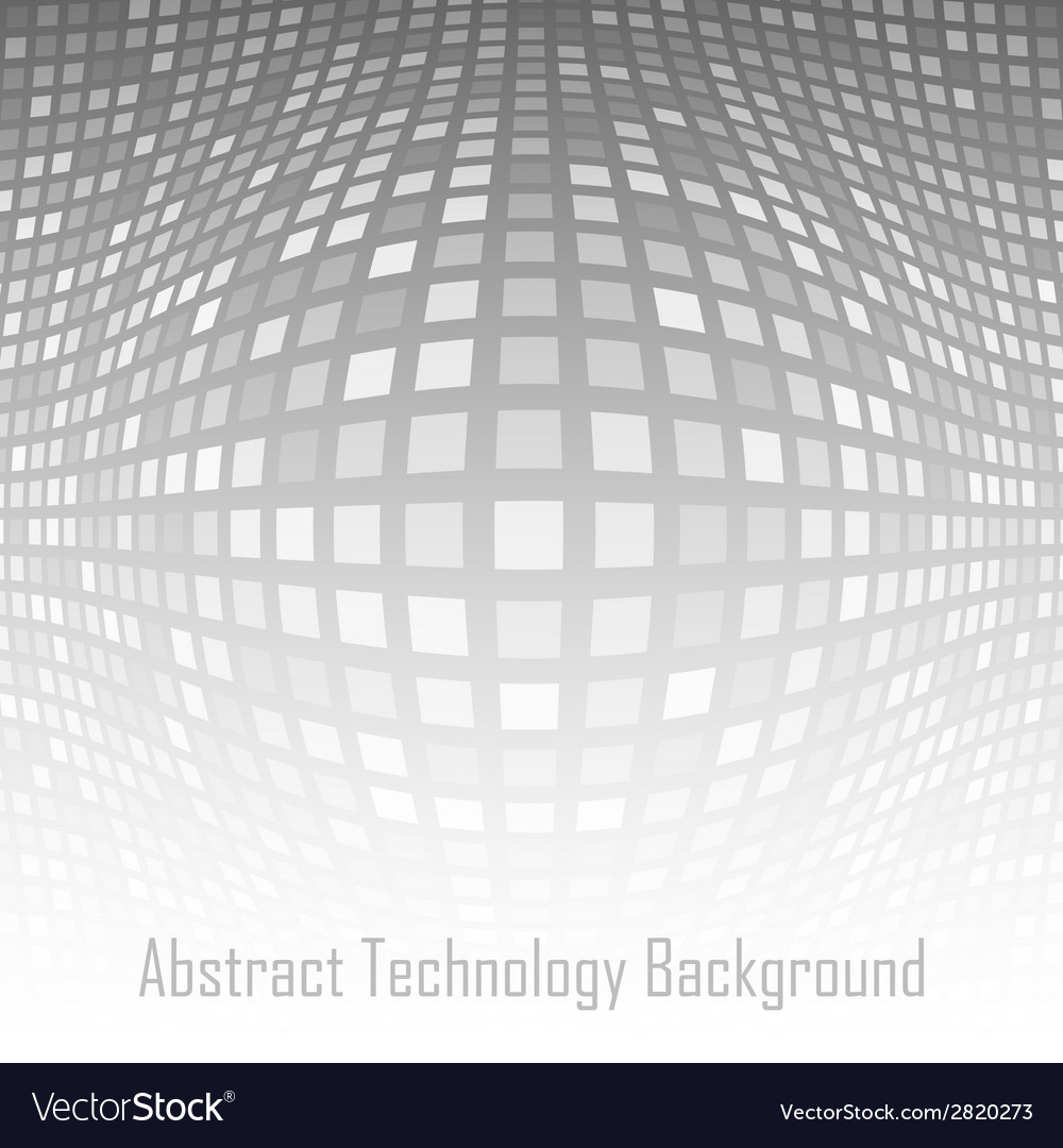 Abstract gray - white technology background vector | Price: 1 Credit (USD $1)