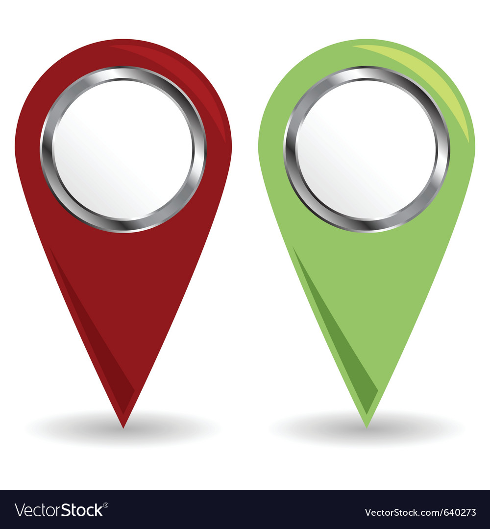 Location pins vector | Price: 1 Credit (USD $1)