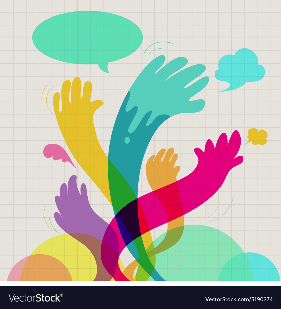 Handup vector | Price: 1 Credit (USD $1)