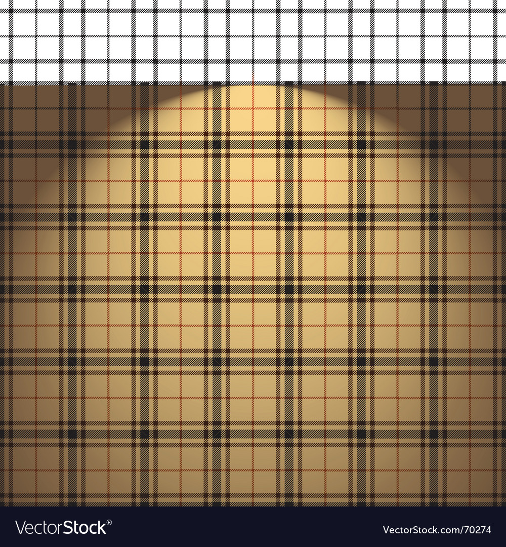 Tartan background vector | Price: 1 Credit (USD $1)
