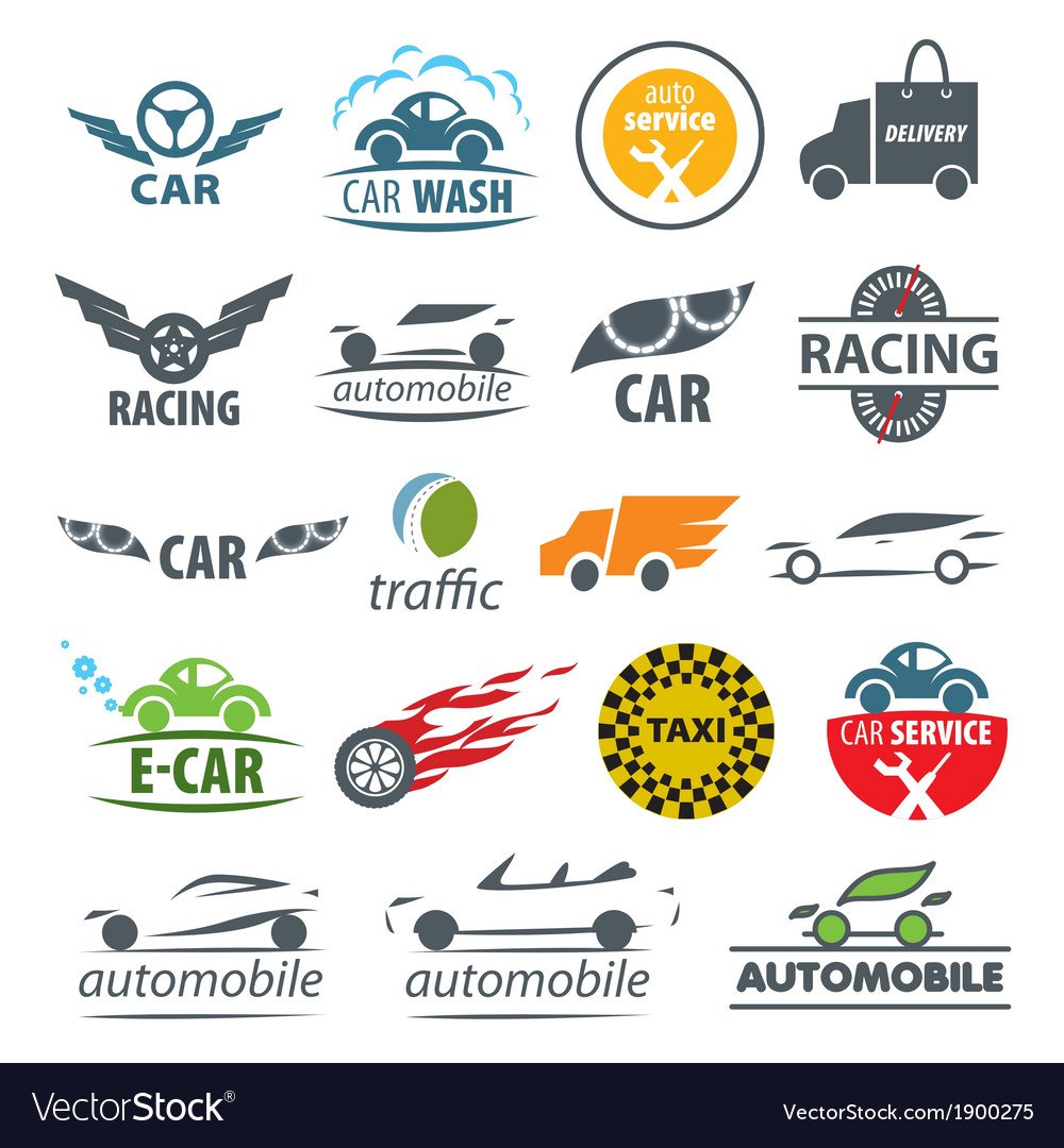 Biggest collection logos car vector | Price: 1 Credit (USD $1)