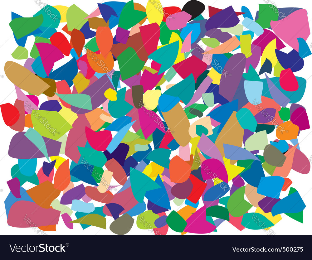 Colorful splinters vector | Price: 1 Credit (USD $1)