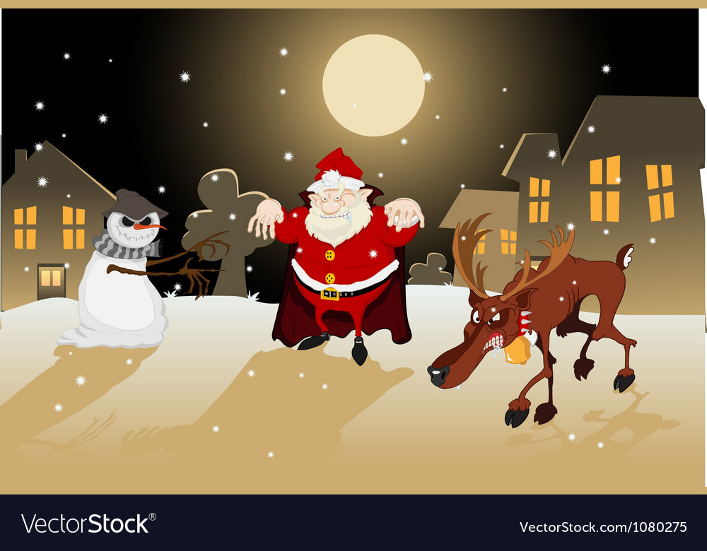 Dreadful christmas vector | Price: 3 Credit (USD $3)