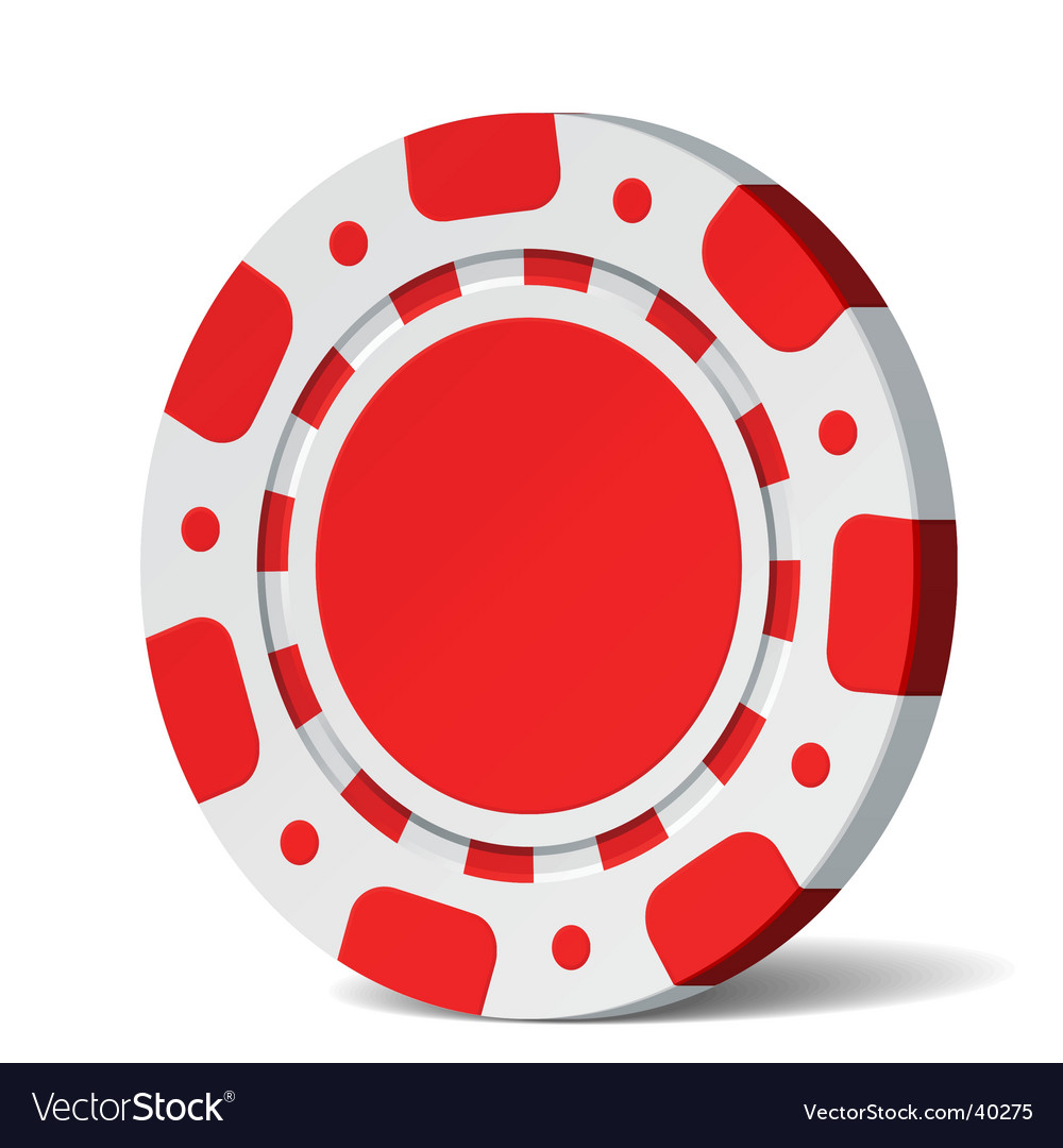Poker chip vector | Price: 1 Credit (USD $1)