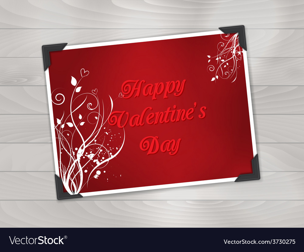 Valentines day photo background 1612 vector | Price: 1 Credit (USD $1)