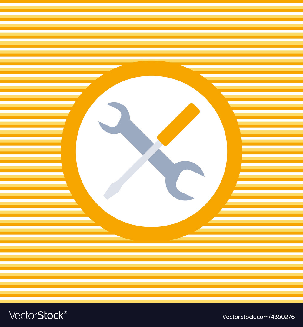 Auto service color flat icon vector | Price: 1 Credit (USD $1)