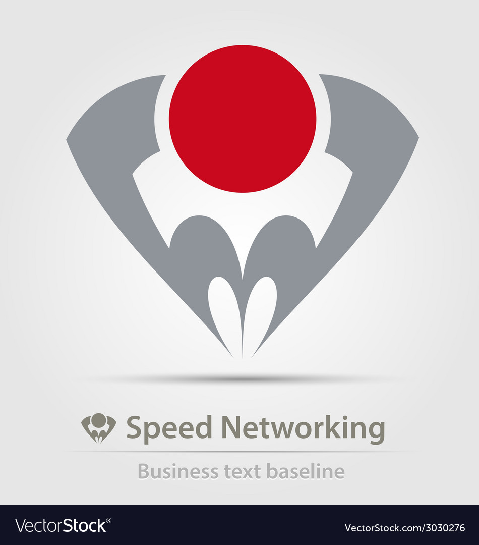 Speed networking business icon vector | Price: 1 Credit (USD $1)
