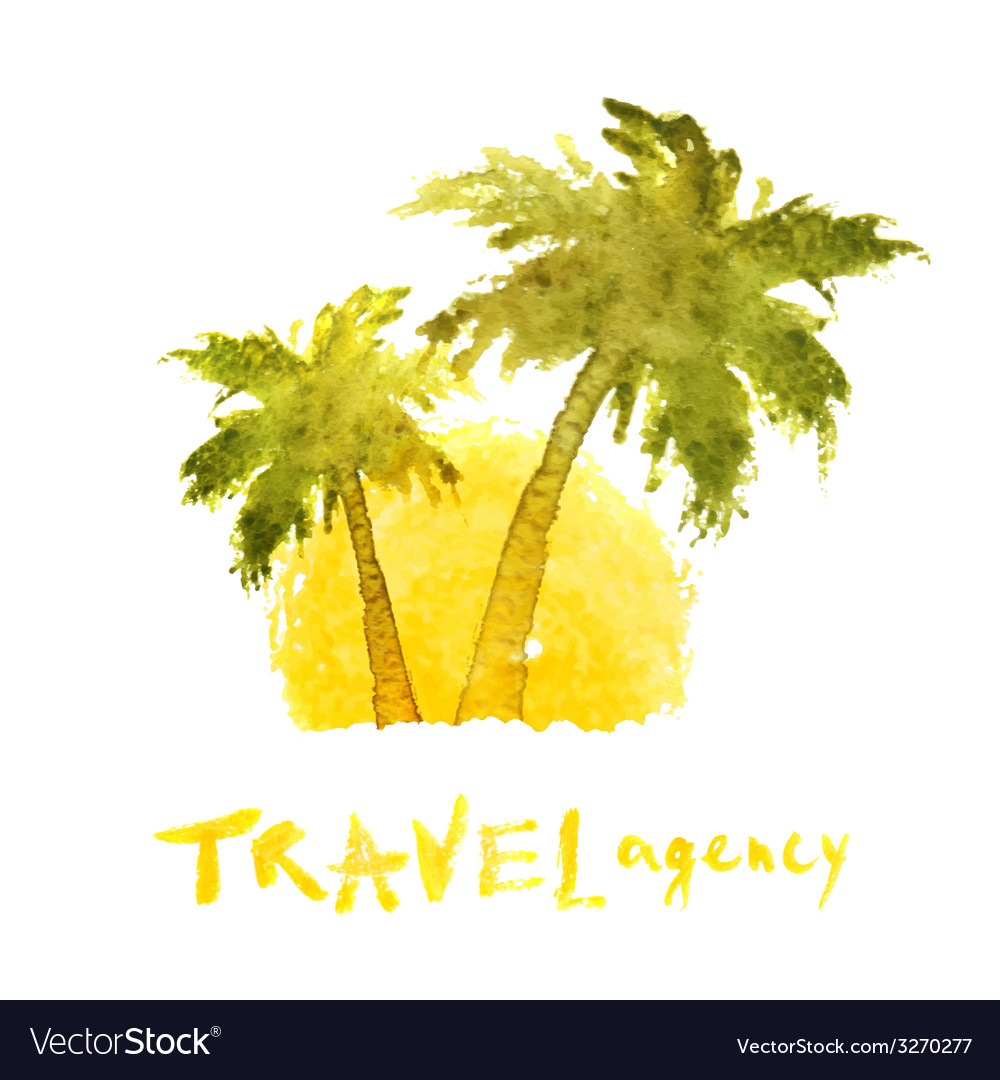 Travel agency logo template vector | Price: 1 Credit (USD $1)