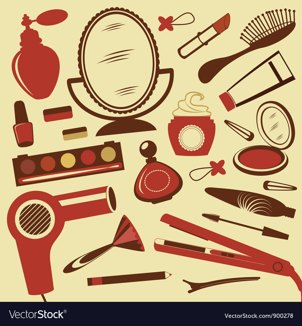 Beauty collection vector | Price: 3 Credit (USD $3)