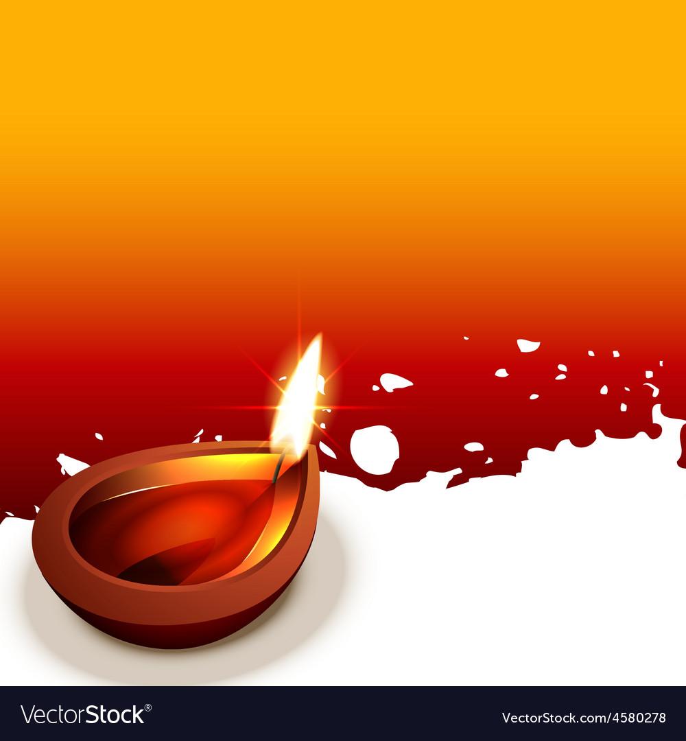 Diwali diya design vector | Price: 1 Credit (USD $1)