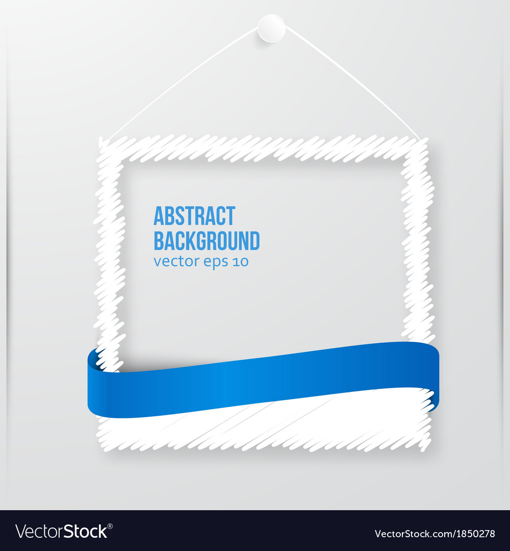 Photo frame banner vector | Price: 1 Credit (USD $1)