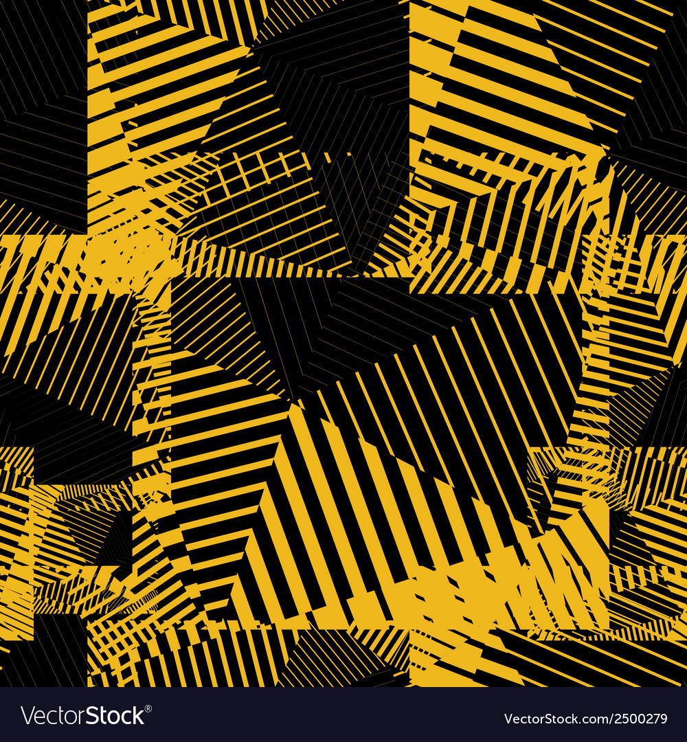 Contrast creative continuous lines pattern vector | Price: 1 Credit (USD $1)