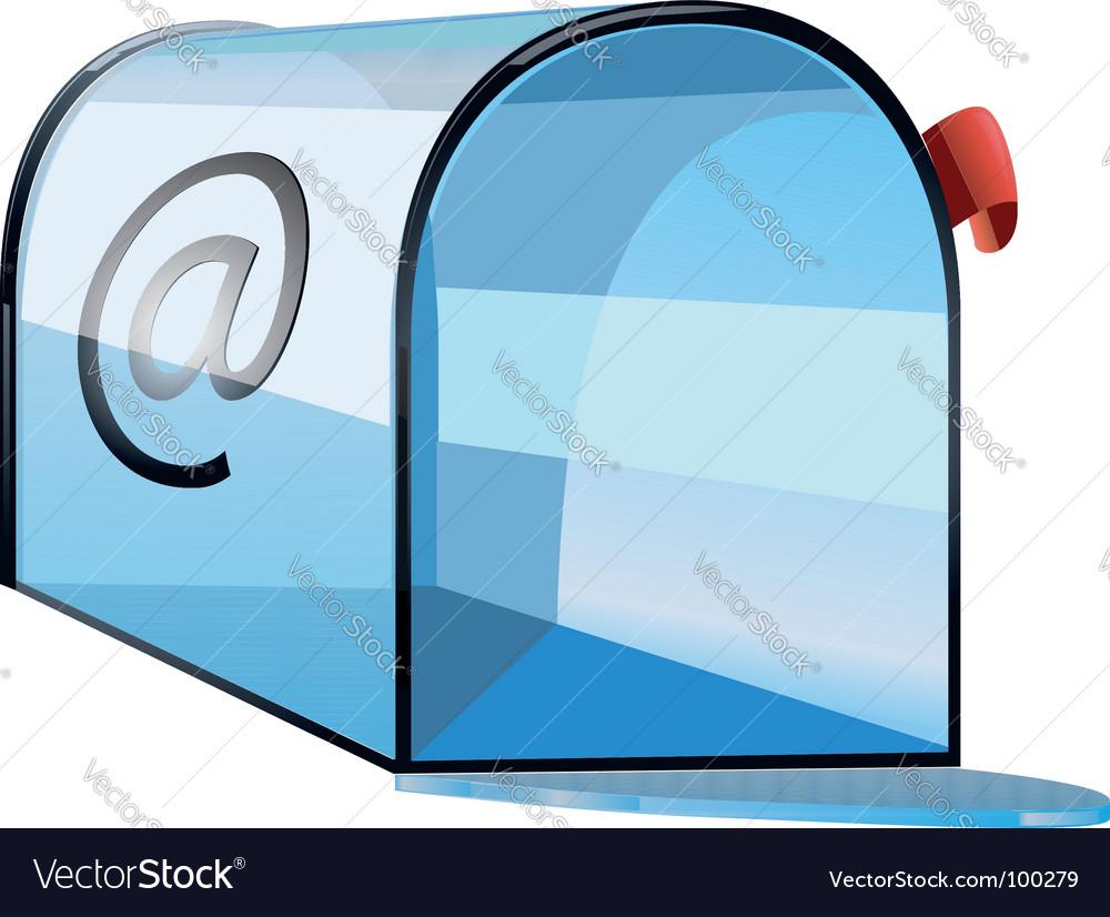 Mailbox icon vector | Price: 1 Credit (USD $1)