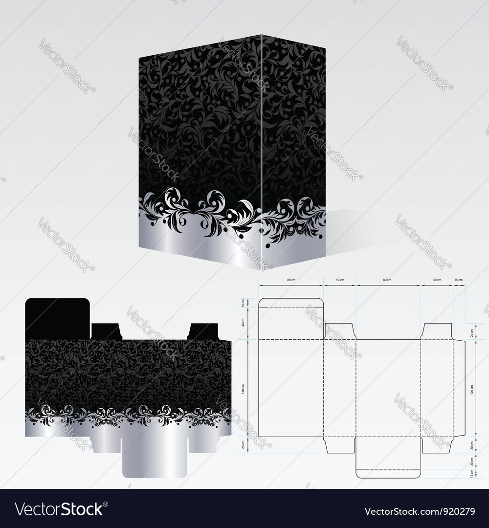 Packaging vector | Price: 1 Credit (USD $1)