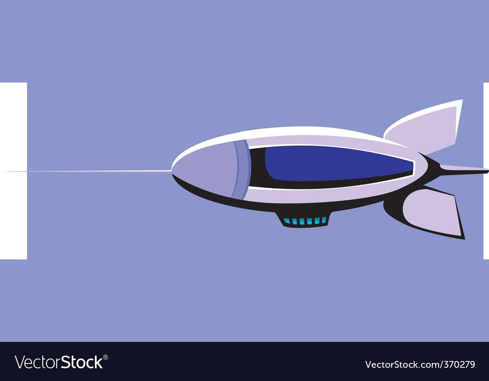 Zeppelin vector | Price: 1 Credit (USD $1)