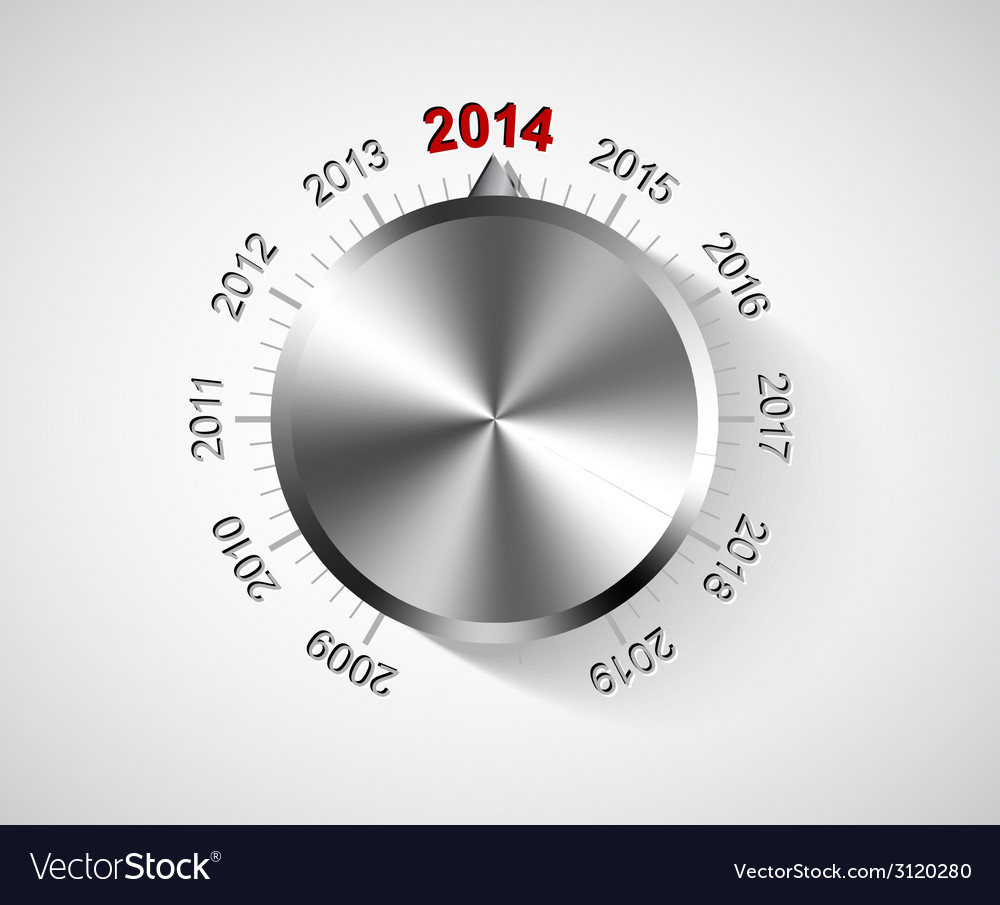 2014 new year card vector | Price: 1 Credit (USD $1)