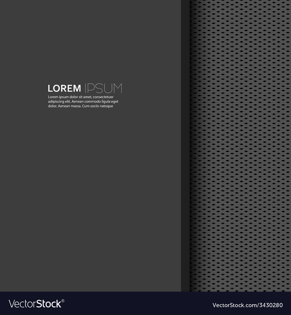 Blank with dark background and uniform texture vector | Price: 1 Credit (USD $1)