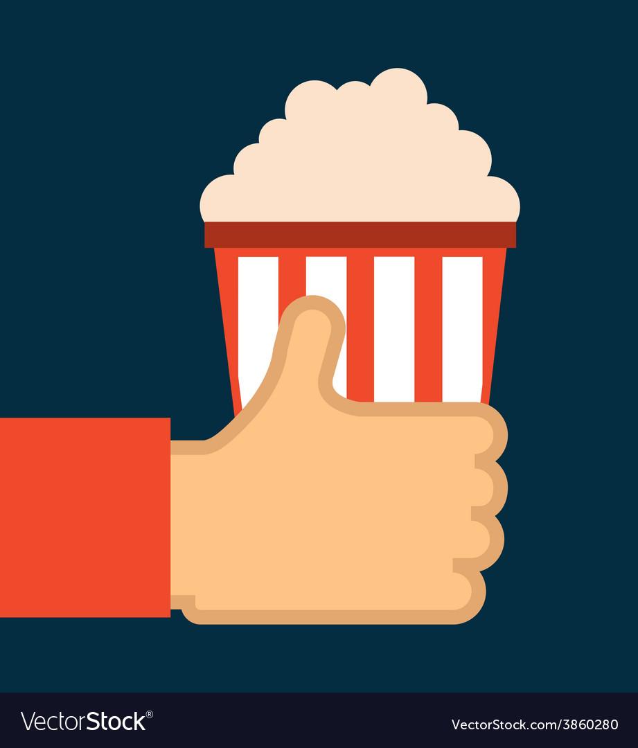 Cinema icon vector | Price: 1 Credit (USD $1)