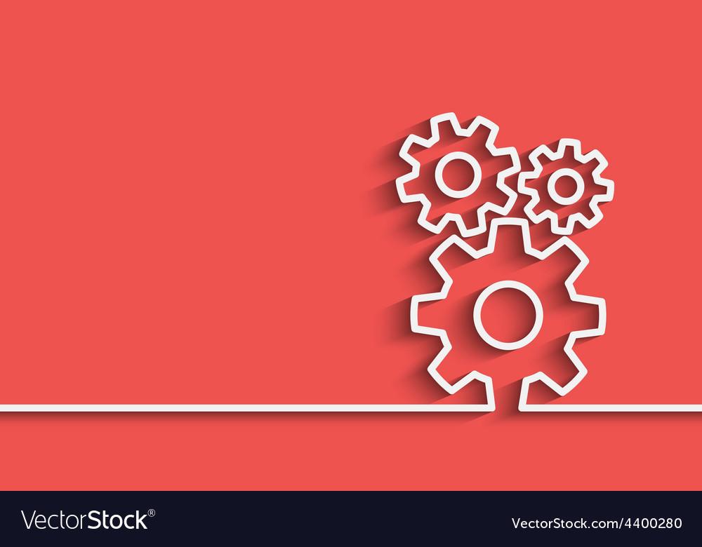 Gears back vector | Price: 1 Credit (USD $1)